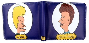 Бумажник Бивис и Баттхед / Beavis and Butt-Head