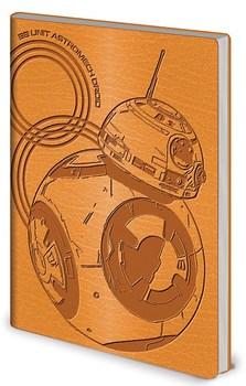 Официальный блокнот БиБи-8 Звёздные Войны / BB-8 Star Wars