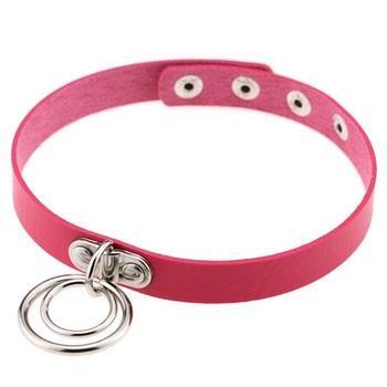 Чокер Кольца (Розовый)