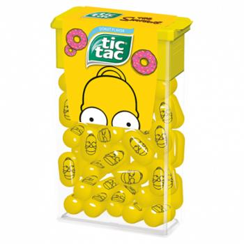 Tic Tac The Simpsons Драже со вкусом Пончика