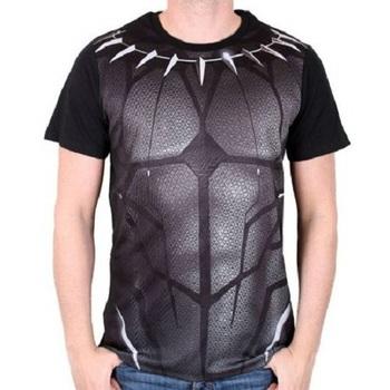 Официальная футболка Чёрная Пантера / Black Panther