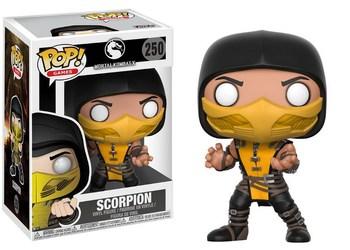 Фигурка Funko Скорпион Смертельная битва Икс / Scorpion Mortal Kombat X