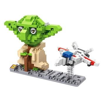 Конструктор LOZ Йода Звёздные Войны / Yoda Star Wars