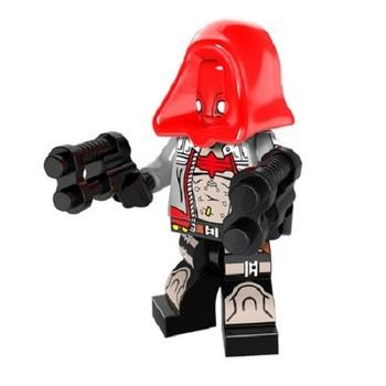 Минифигурка Красный колпак Рыцарь Аркхема / Red Hood Arkham Knight