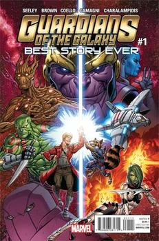 Guardians Of The Galaxy. Best Story Ever #1 Cover A Regular Tim Seeley Cover