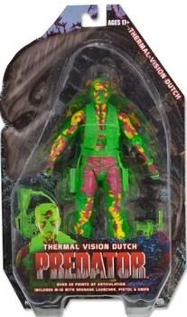 Фигурка NECA Датч в тепловом видении Хищник / Thermal Vision Dutch Predator