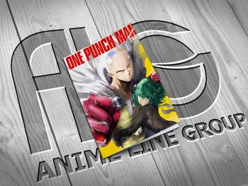 One Punch Man тетрадь на скобе