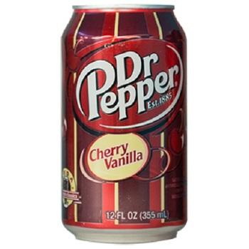 Dr Pepper Вишнёвая Ваниль (Банка 355 мл)