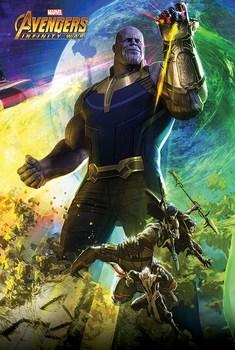 Официальный постер Война Бесконечности / Infinity War