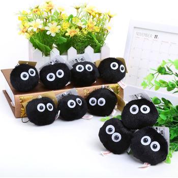 Мягкая игрушка-брелок Чернушка Сусуватари Тоторо / Susuwatari Totoro (5 см)
