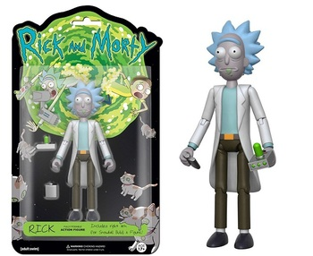 Фигурка Funko Action Figure Рик (Рик и Морти) / Rick (Rick and Morty)