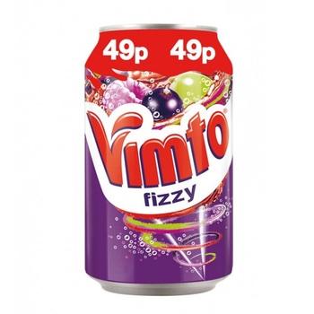 Vimto Fizzy Фруктовый Микс (Банка 330 мл)