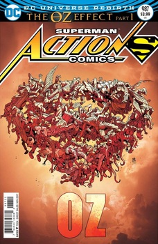 Action Comics #987 Cover A Regular Nick Bradshaw Lenticular Cover