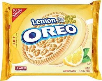 Печенье Oreo Лимонный Крем 432 г.