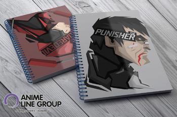 Скетчбук The Punisher / Daredevil