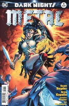 Dark Nights. Metal #1 Cover C Variant Jim Lee Cover