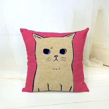 Cat подушка
