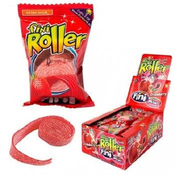 Жевательная конфета Fini Roller Клубника