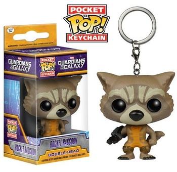 Брелок-фигурка Funko Реактивный Енот Стражи Галактики / Rocket Raccoon Guardians of the Galaxy