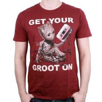 Официальная футболка Грут Стражи Галактики 2 / Groot Guardians of the Galaxy Vol. 2