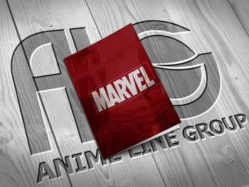 Marvel тетрадь на скобе