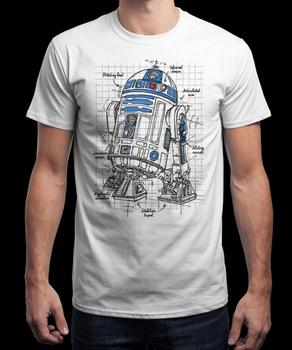 Футболка Р2-Д2 Звёздные Войны / R2-D2 Star Wars