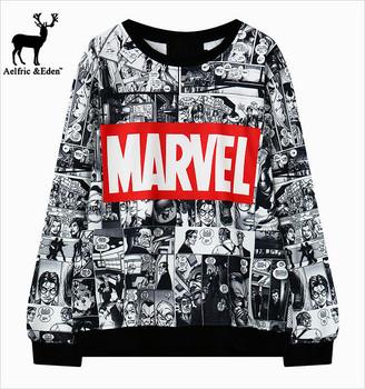 Marvel свитшот
