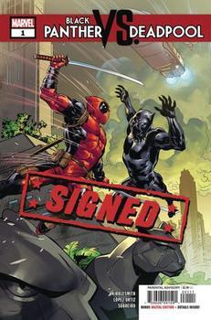 Black Panther vs. Deadpool #1 Cover H Regular Ryan Benjamin Cover Signed By Daniel Kibblesmith (с автографом)