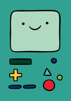 Блокнот БиМО Время Приключений / BMO Adventure Time