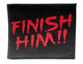Бумажник Смертельная Битва / Finish Him!! Mortal Kombat