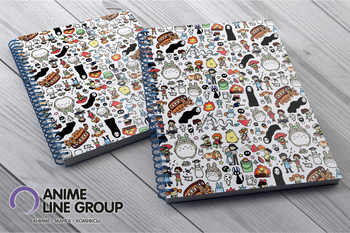 Totoro скетчбук