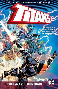 DC Universe Rebirth. Titans. The Lazarus Contract TPB