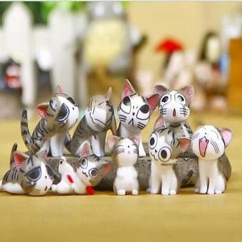 Фигурка Кот Чи Серый / Chi Cat Grey
