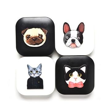Кейс для линз Dogs / Cats