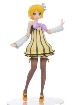 Фигурка Кагаминэ Рин / Kagamine Rin Project DIVA Cheerful Candy (УЦЕНКА)