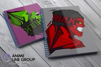 Скетчбук Rulk / Hulk
