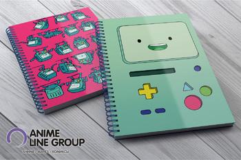 Adventure Time скетчбук