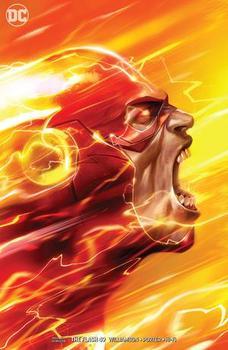 DC Universe. The Flash #49 Cover B Variant Francesco Mattina Cover