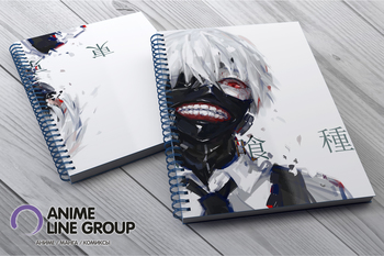 Tokyo Ghoul скетчбук