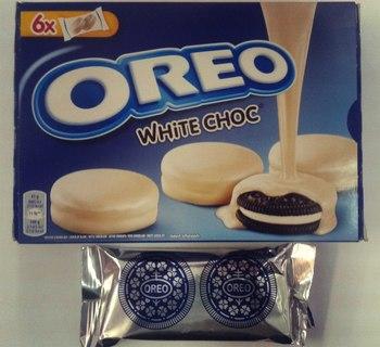Печенье Oreo Белый Шоколад (Маленькая упаковка) 41 г.