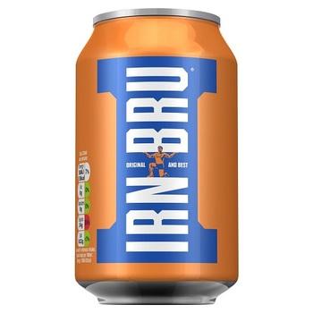 Irn Bru Газированный Напиток (Банка 330 мл)