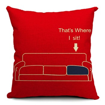 The Big Bang Theory подушка