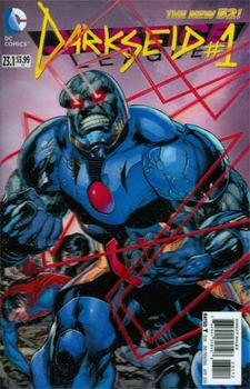 Justice League #23.1 Darkseid Cover C 2nd Ptg 3D Motion Cover