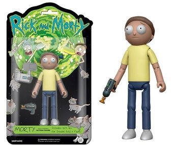 Фигурка Funko Action Figure Морти (Рик и Морти) / Morty (Rick and Morty)