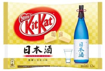 KitKat Упаковка Саке