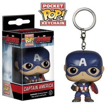 Брелок-фигурка Funko Капитан Америка / Captain America Avengers Age of Ultron