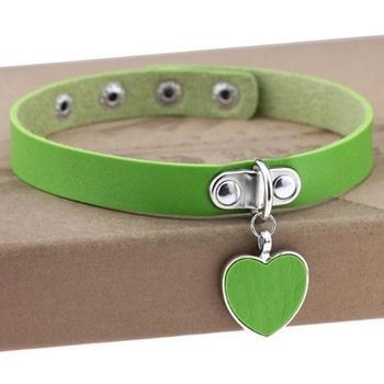 Чокер Сердце (Зелёный)