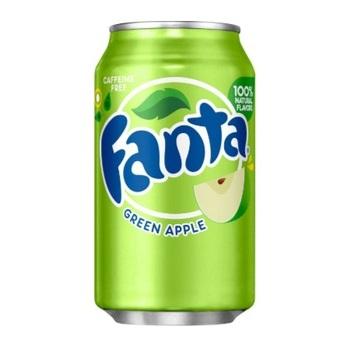 Fanta Зеленое Яблоко (Банка 355 мл)