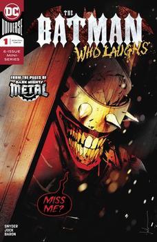 The Batman Who Laughs #1 Cover A Regular Jock Cover