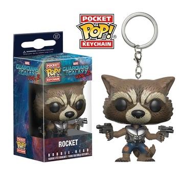 Брелок-фигурка Funko Реактивный Енот Стражи Галактики 2 / Rocket Raccoon Guardians of the Galaxy Vol. 2